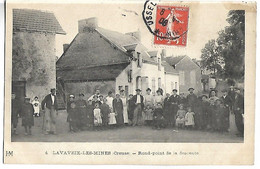 LAVAVEIX LES MINES - Rond Point De La Descente - Zonder Classificatie