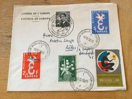 K16 Belgien 1958 Brief Mit Sst. Brüssel Weltausstellung - Cartas