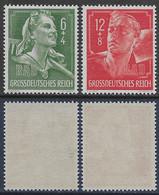 Germania Deutsches Reich 1944 Fatique Duty Mi N.894-895 Complete Set MNH ** - Ongebruikt