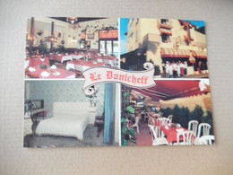 Dept 44 Pornichet  Hotel Restaurant ' Le Danicheff   4 Vues   Photo Ballerin / 45 Av Du General De Gaulle - Pornichet