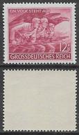 Germania Deutsches Reich 1945 Total Defence  Mi N.908 MNH ** - Ongebruikt