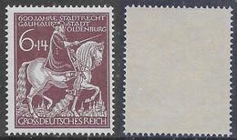 Germania Deutsches Reich 1945 Oldenburg Mi N.907 MNH ** - Ongebruikt