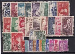 France ,n° 334/371 Sauf N° 348/351  , Obl , TB - ....-1939