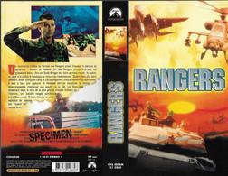 """RANGERS"" -jaquette SPECIMEN Originale PARAMOUNT VHS SECAM - Fantascienza E Fanstasy"