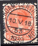 PAYS-BAS - (Royaume) - 1939 - N° 317 - 22 1/2 C. Rouge-orange - (Wilhelmine) - Gebraucht