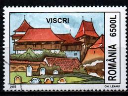 ROMANIA - 2002 - FORTEZZE TEDESCHE IN ROMANIA: VISCRI - USATO - Usado