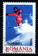 ROMANIA - 2003 - Extreme Sports: Skiing - USATO - Usado