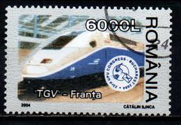 ROMANIA - 2004 - UPU Congress Emblem And TGV, France - USATO - Usado