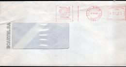 Argentina - 1988 - Lettre - Cachet Spécial - Affranchissement Mécanique - Equitel - Siemens - A1RR2 - Lettres & Documents