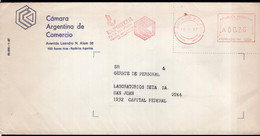 Argentina - 1987 - Lettre - Cachet Spécial - Affranchissement Mécanique - Camara Argentina De Comercio - A1RR2 - Lettres & Documents