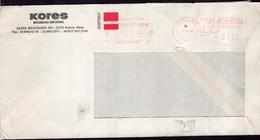 Argentina - 1986 - Lettre - Cachet Spécial - Affranchissement Mécanique - Kores - A1RR2 - Lettres & Documents