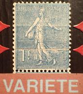 R1491/74 - 1924/1932 - TYPE SEMEUSE LIGNEE - (PAIRE) N°205 NEUFS** BdF - SUPERBE VARIETE ➤➤➤ Impression Sur Raccord - Variétés: 1921-30 Neufs