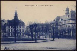 AK Saarbrücken Place Du Cháeau Ansehen (8505 - Sin Clasificación