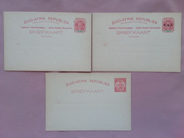 REPUBBLICA SUD AFRICA - 3 Cartoline Postali Nuove + Spese Postali - Autres