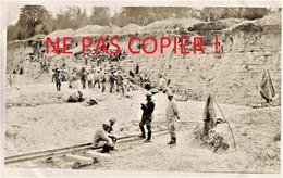 PHOTO FRANCAISE 322 RIT - LA CARRIERE DE BEAUZEE ( SUR AIRE ) PRES DE PRETZ EN ARGONNE MEUSE 1916 - GUERRE 1914 1918 - 1914-18