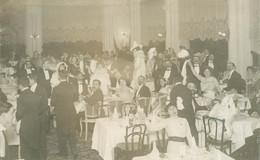 """CARTE PHOTO FRANCE 06 """"Cannes, 1910, Souper Du Veglione"""" - Cannes"""