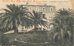 "CPA FRANCE 06 ""Cannes, Villa Mauritzia"" - Cannes"