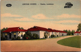 Louisiana Ruston Lincoln Courts Curteich - Other