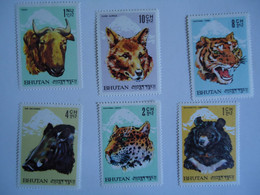 BHUTAN  MINT STAMPS  ANIMALS - Bhután