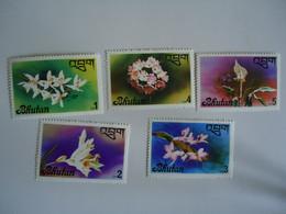 BHUTAN  MINT    STAMPS  OLYMPIC  FLOWERS  OCHIDS - Bhután