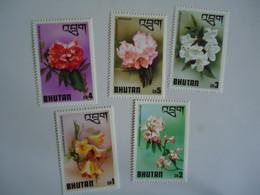 BHUTAN  MINT    STAMPS  OLYMPIC  FLOWERS - Bhután
