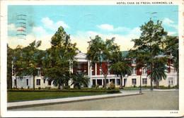 Louisiana Hammond Hotel Casa De Fresa 1939 Curteich - Other