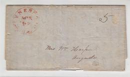 Brief Aus WAYNESBORO ?  24.Apr - …-1845 Vorphilatelie