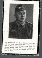 AK -86.817  Sterbebild Ogfr. In EB Pionier Rgt. Johann Kirst   Verunglückt 1944 In Saarguemines - 1939-45
