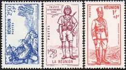Détail De La Série Défense De L'Empire ** Réunion N° 175 à 177 - 1941 Défense De L'Empire