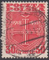 POLAND  SCOTT NO 279   USED   YEAR 1933 - Unused Stamps