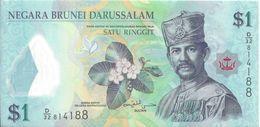 BRUNEI - 1 Ringgit 2013 - UNC - Brunei