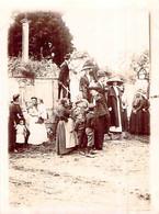 Photo église Lieury L'Oudon Mariage Famille Bourgeoise Chapeaux 1912 14170 14472 Saint Pierre En Auge - Lieux