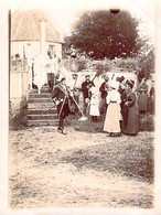 Photo église Lieury L'Oudon Mariage Famille Bourgeoise Garde Suisse Chasseurs 1912 14170 14472 Saint Pierre En Auge - Lieux