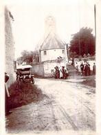 Photo église Lieury L'Oudon Mariage Famille Bourgeoise  Chasseurs 1912 14170 14472 Saint Pierre En Auge - Lieux