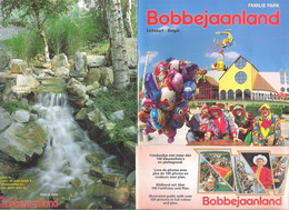 FOLDER  - FAMILIE PARK BOBBEJAANLAND - LICHTAART - MEER DAN 100 FOTO'S+PLATTEGROND - 15,5 CM X 22,5 CM (2 Scans)(BO 120) - Other