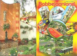 FOLDER  - FAMILIE PARK BOBBEJAANLAND - LICHTAART - BELGIË - MET PLATTEGROND - 15,5 CM X 22,5 CM (2 Scans)(BO 122) - Other