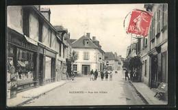 CPA Auzances, Rue Des Hôtels - Auzances