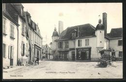 CPA Auzances, Place De L`Ouche - Auzances