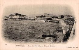 13 MARSEILLE   Route De La Corniche, Les Bains Des Catalans - Andere