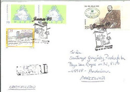 CARTA CERTIFICADA  1999  ALAIOR - 1991-00 Cartas