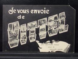 88217 .  VITTEL . JE VOUS ENVOIE DE . MES MEILLEURS VOEUX POUR LA NOUVELLE ANNEE . 1910 - Vittel Contrexeville