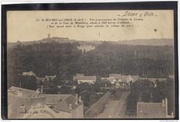 9123. SAINT MICHEL SUR ORGE . VUE PANORAMIQUE DU CHATEAU DE LORMOY .  RECTO/VERSO.  EDIT. V. MUR - Saint Michel Sur Orge