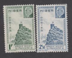 Colonies Françaises -Timbres Neufs** - Niger - Pétain - N° 93 Et 94 - Neufs
