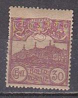 PGL - SAN MARINO SAINT-MARIN SASSONE N°75 * - Unused Stamps