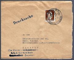 LETTRE EN PROVENANCE DE HAGUENAU - BAS-RHIN - 1943 - - Alsace Lorraine