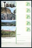 REPUBLIQUE FEDERALE ALLEMANDE - Ganzsache Michel P 134 - Série J3 Complète - Postales Ilustrados - Nuevos
