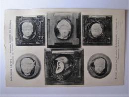 ARTS - SCULPTURE - Concours Lépine - Marrons Sculptés Au Couteau - Médaille Vermeil 1916 - Sculptures