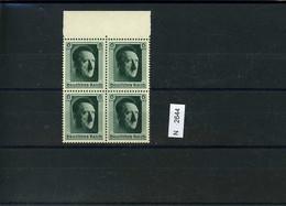 Deutsches Reich, 646, Xx, 4-er Block Vom Oberrand - Nuovi