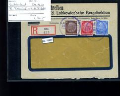 Deutsches Reich, 515, 519, 521 Sudetenland  MeF Bedarf - Lettere