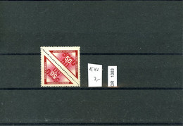 DR, Böhmen Und Mähren, Xx, Porto 15 Kehrdruckpaar - Nuovi
